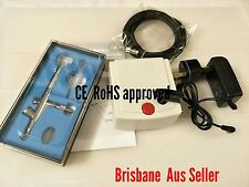 Dual Action Airbrush Mini Compressor Kit 0.4mm  Air Brush Spray Gun Nail Cake
