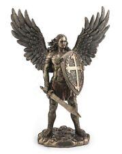 "14"" Archangel Saint Michael w/ Sword & Shield San Miguel Arcangel Statue Santo"