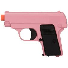 PINK 1908 COMPACT METAL SPRING AIRSOFT PISTOL FULL SIZE HAND GUN w/ 6mm BB BBs