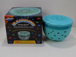 Swimways Rainbow Reef Aquarium Fish Floating Pool Light, Outdoor Party Lighting