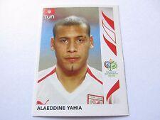 Sticker PANINI Fifa World Cup GERMANY 2006 N°576 Tunisie Alaeddine Yahia
