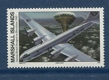 Marshall Islands 1995 World War 2 WW II Scott 520 Atomic Bomb Enola Gay W99 NH