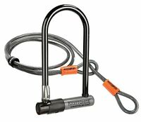Kryptonite Bike Lock Series 2 with 4-Feet Kryptoflex Cable U-lock Bicycle New