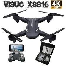 RC Drone Quadcopter Foldable Visuo XS816 50x Zoom WiFi FPV 4K /1080P Dual Camera
