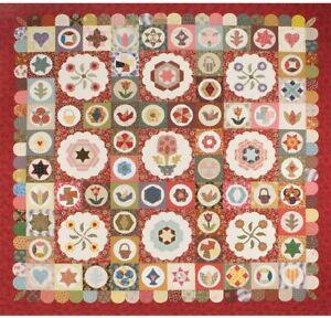 Antique Sampler Quilt Pattern Kit