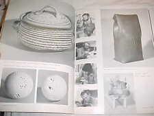 1978 RUTH GOWDY MCKINLEY ROBIN HOPPER ROBERT HELD MODERN CANADIAN STUDIO POTTERY
