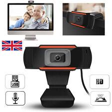 More details for autofocus full hd webcam microphone usb web camera for pc desktop laptop hot uk