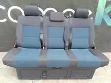 Sitz Bank Sitzbank Anthrazit Blau Isofix VW T5 Multivan Face Lift