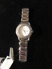 BREIL®️womens Steel Swarovski Elements®️crystal Silver Color Watch NEW