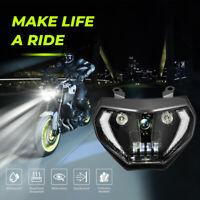 LED Scheinwerfer für Yamaha 2014 2015 2016 FZ09 MT09 / 2017-2019 FZ07 MT07 Licht