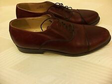 BUSINESS SOFTWEAR LEATHER MADE IN ITALY MEN'S DRESS SHOES size 12