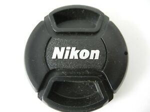 NIKON SNAP CAP  62MM FOR LENS FRONT WITH SILVER LOGO NICE CLEAN