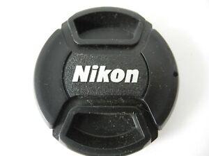 NIKON SNAP CAP FRONT LENS PERFECT CAP 62MM WITH SILVER LOGO