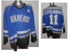 Very Rare 80s AIX-BEARS Z. STOJANOVIC #11 Ice Hockey Shirt Vintage BRUX - XL