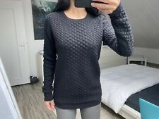 Pull noir chaud en laine & Other Stories wool jumper S M 36 38