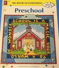 Big Book of Everything Preschool Crafts Education Games Pre-k Learning