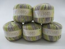 PLYMOUTH Vizions #101 Lot of 4 (not 5 as shown) - Rayon/Linen - DK
