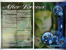COUPURE DE PRESSE-CLIPPING :  AFTER FOREVER [2pages] 2004 Floor Jansen,Exordium