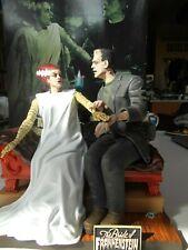 Meobius Bride of Frankenstein built and painted Universal Monsters model kit