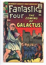 Fantastic Four #48 Vol 1 Nice Low Grade 1st App of Silver Surfer and Galactus