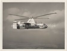 Fairey Rotodyne Helicopter Vertical Take Off Airliner Large Photo, AY140