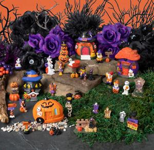 Halloween Fairy Garden Complete Set - 30 Total Pieces