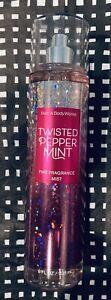 Bath & Body Works ~Twisted Peppermint~ Fine Fragrance Mist Spray Splash  8 oz.