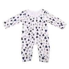 Cotton Newborn Baby Boys Girls Romper Bodysuit Jumpsuit Clothes Pajamas Outfits
