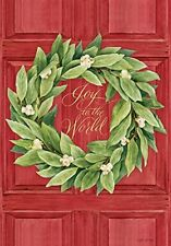 Joy To The World - Large Garden Flag - Brand New 28x40 Christmas 0032