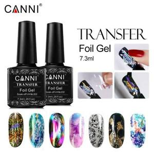 CANNI Transfer Foil Gel Nail Polish