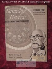 Saturday Review October 11 1952 W T STACE MARSHALL FISHWICK FREDERICK W. HILES