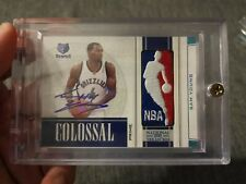 2010 NATIONAL TREASURES NT SAM YOUNG RC AUTO LOGOMAN TAG SWATCH JERSEY /5 PWCC