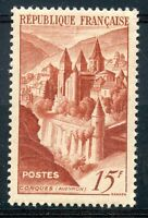 TIMBRE FRANCE NEUF LUXE ** N° 792 ABBAYE DE CONQUES