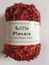 Crystal Palace Yarns Little Flowers #0433 Oranges & Cherries Metallic Mini Flag