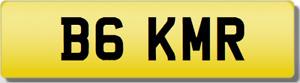 KMR BG BGK MR  Private Cherished Registration Number RARE 5 DIGIT KMR PLATE