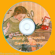 Mary Frances Sewing Book On CD & Set Of Doll Clothes Patterns ORIGINAL