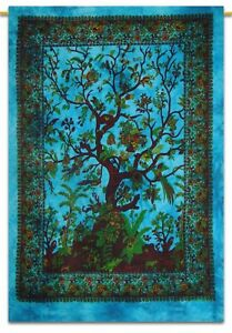 Tapestry Yoga Mat Dry Tree Of Life Wall Hanging Ethnic Decor Dorm Poster Tie Dye