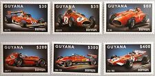 Guyana 1999 6689-94 FERRARI Automobile RACE CARS CORSA FORMULA 1 AUTO MNH