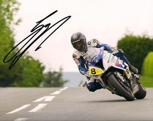 Guy Martin 2015 Signed 10 x 8 action shot picture & we can show you proof