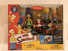 SIMPSONS CHRISTMAS TALKING 5 pack Homer Marge Bart Lisa Toys R Us NEW IN BOX