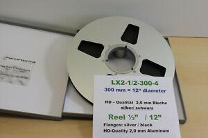 """Halbzoll Leerspule 12"""" f. Multitrack-Machine, Ampex, Otari -NEU- Nr.LX2-1/2-4"""