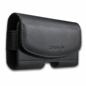LG K20, K20 V, K20 Plus, LG Grace/K10 2017 Leather Belt Clip Holster Pouch Cover