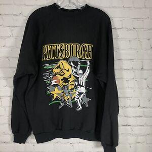Vintage 1997 Pittsburgh Steelers Crewneck Sweatshirt Mens XL NFL Pullover USA