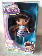 """Nickelodeon Little Charmers 8"""" Lavender Doll Party Dress Girls Collectible NEW"""