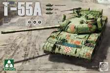 Takom 1:35 Russian T-55A Medium Tank - Plastic Model Kit #2056