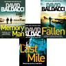 DAVID BALDACCI BOOK SET THE FALLEN LAST MILE MEMORY MAN BRAND NEW FAST FREE P&P