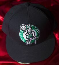 Mitchell & Ness Boston Celtics NBA 7-3/8 59 cm black green wool baseball cap hat