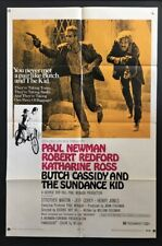 Butch Cassidy and the Sundance Kid Original Movie Poster   *Hollywood Posters