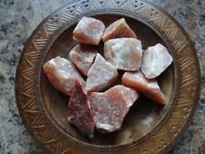 QUARTZ, ORANGE 1/4 Lb Raw Gemstone Specimens Wiccan Pagan Metaphysical