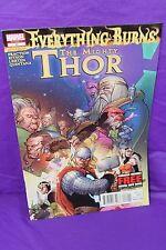The Mighty Thor #22 Everything Burns Matt Fraction 2012 Comic Marvel Comics F/VF